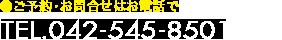TEL.042-545-8501
